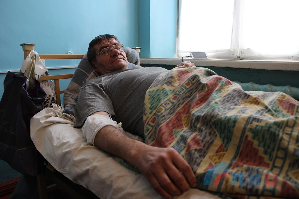 Civilian injured by AFU shelling on LPR