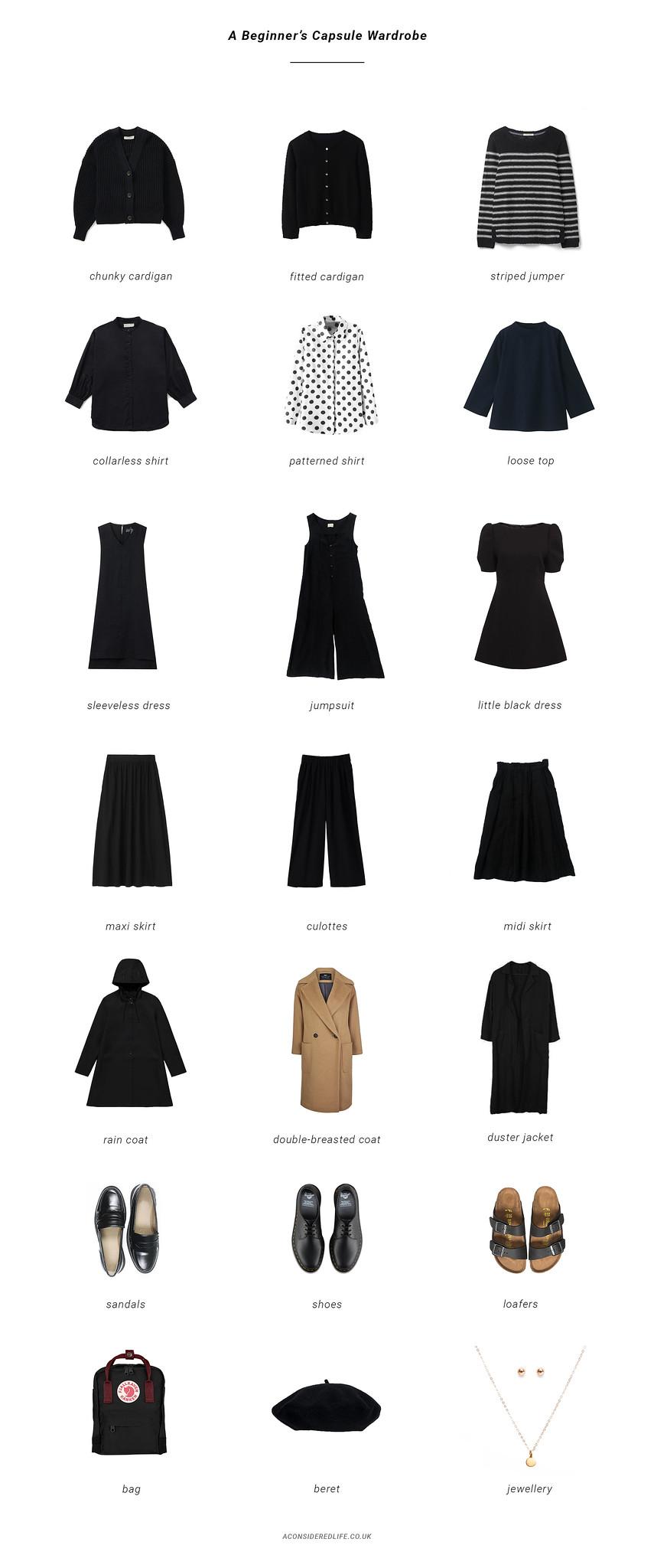 A Beginner's Capsule Wardrobe