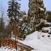Skála Drátník v zimě, foto: Jan Hocek