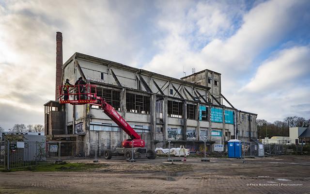 Cokesfabriek verwijderen gedicht - foto Fred Berghmans