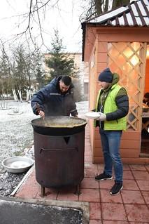 12.01.2020 | Благотворительный рождественский обед для малоимущих