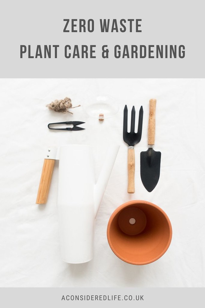 Zero Waste Plant Care and Gardening