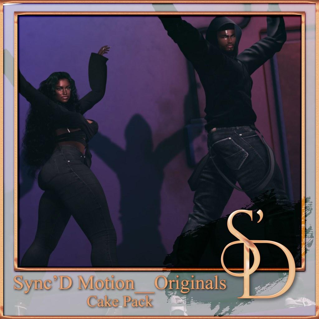 Sync'D Motion__Originals – Cake Pack