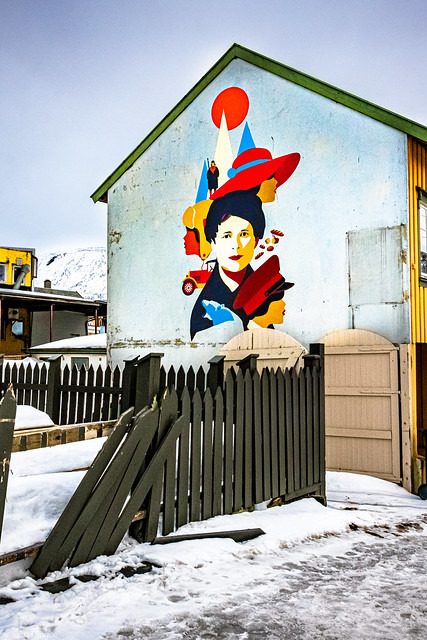Street art in Tromso, Norway- 31