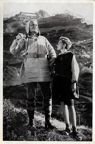 Hans Marr and Detlef Willecke in Wilhelm Tell (1934)