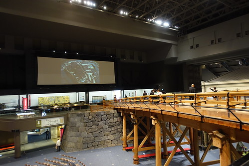 Replica of Nihonbashi Bridge at Museum. From History Comes Alive in Tokyo
