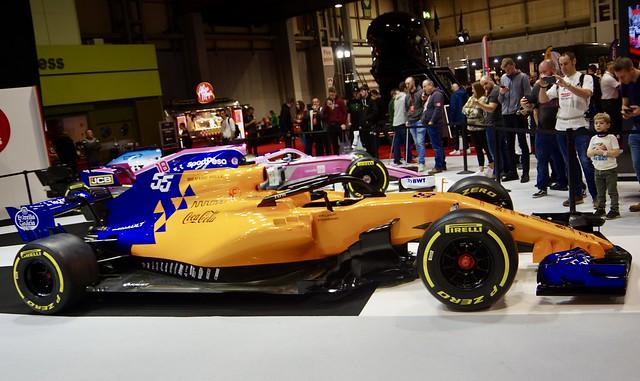 Carlos Sainz Jr's 2019 McLaren MCL34 Renault Formula 1 Car