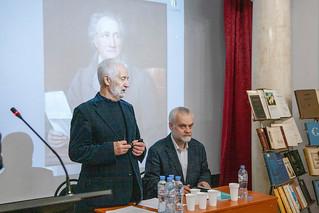 11 декабря 2019 в Литературном институте имени А.М. Горького состоялась юбилейная научно-практическая конференция «Гёте и мировая культура». Конференция была приурочена к 270-летию со дня рождения великого поэта.