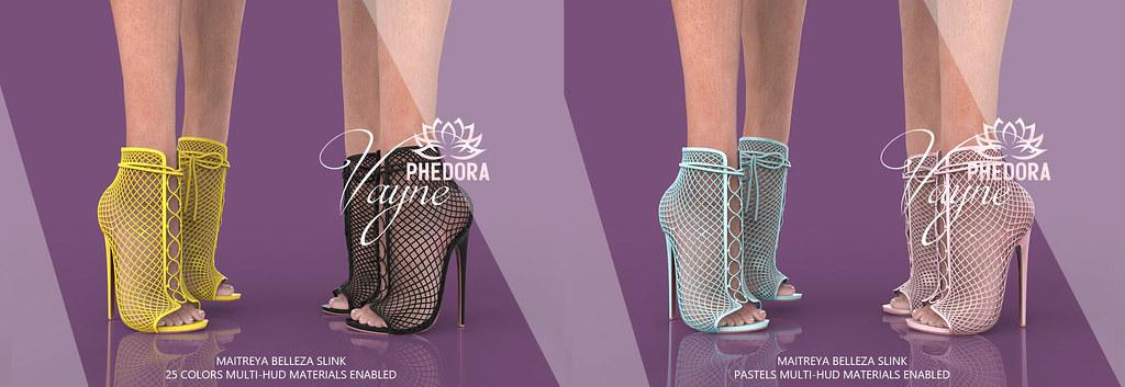 "Phedora for Equal10 ~ ""Vayne"" Heels ♥"