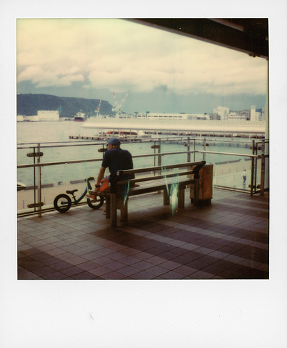 Takamatsu port ...
