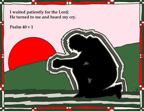 Psalm 40 art
