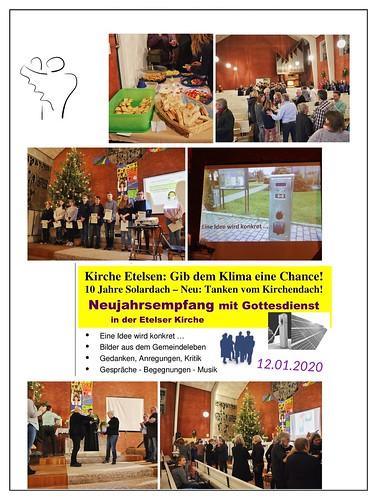 Kirche Etelsen – Neujahrsempfang 2020