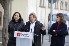 dl., 13/01/2020 - 12:02 - Barcelona 13.01.2020 L'alcaldessa de Bcn, Ada Colau, presenta un programa d'actuacions per protegir els entorns dels centres educatius de Barcelona.    Foto Laura Guerrero/Ajuntament de Bcn.