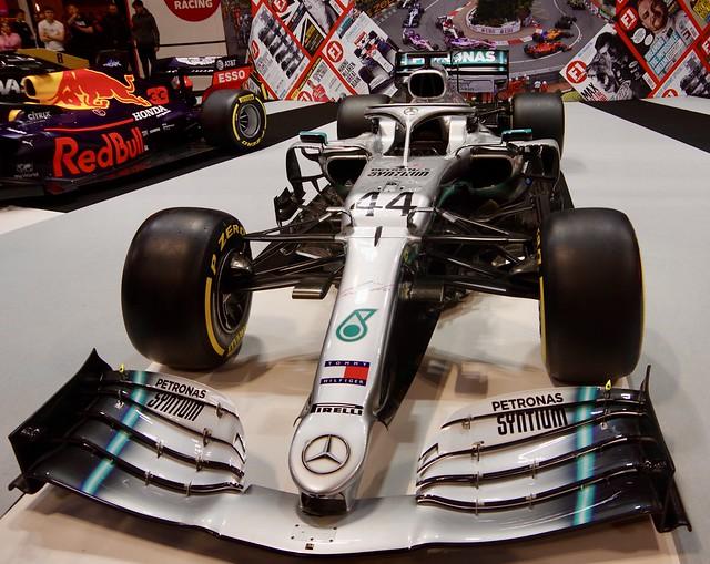 Lewis Hamilton's 2019 Mercedes AMG Petronas Motorsport M10 Formula 1 Car