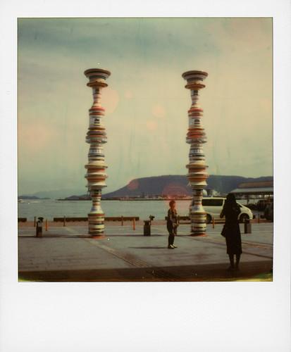 Liminal Air -core- (Setouchi Triennal) at Takamatsu port ...