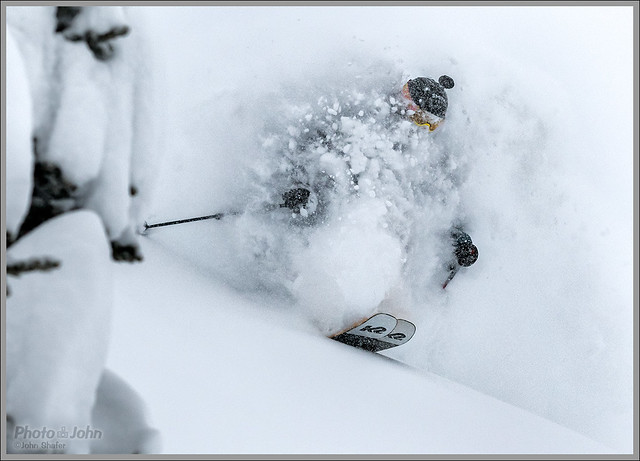 When You Wake Up to Two Feet of Powder