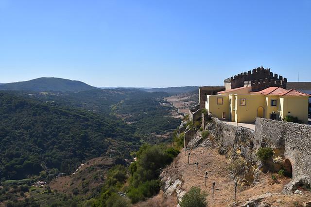 Palmela Castle, Arrabida Natural Park, Setubal, Portugal