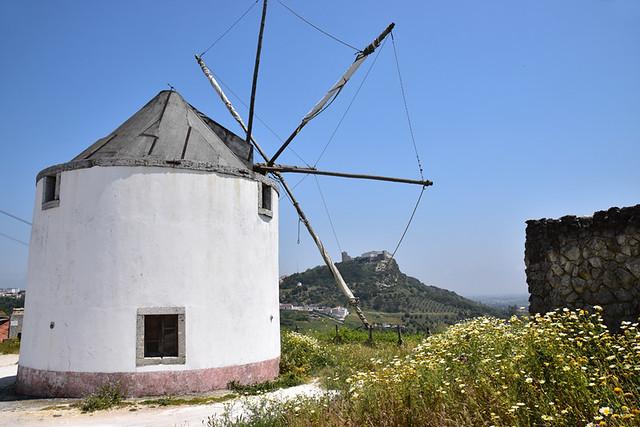 Windmill, Arrabida Natural Park, Setubal, Portugal