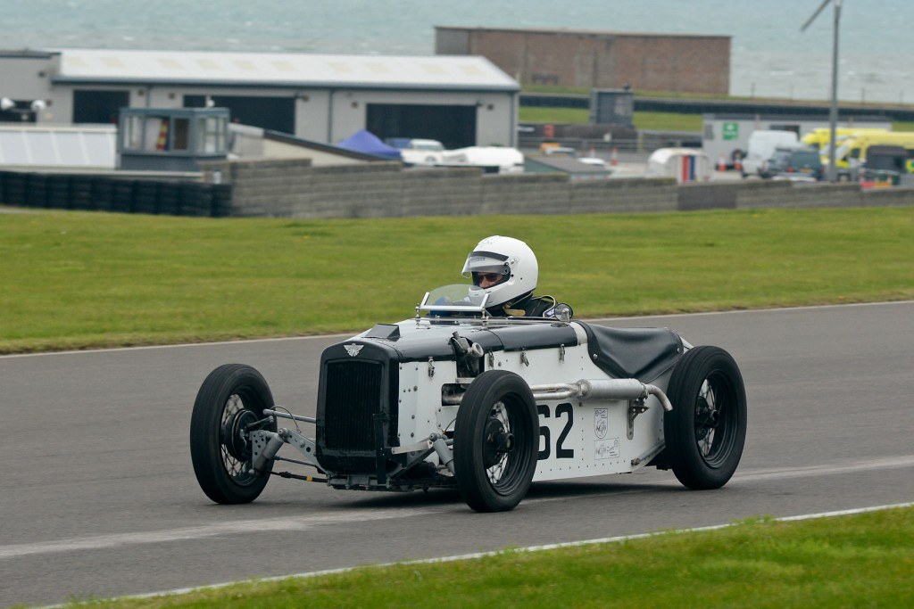 Clive Pearce's  Austin 7 Special at Anglesey (N Lambert)
