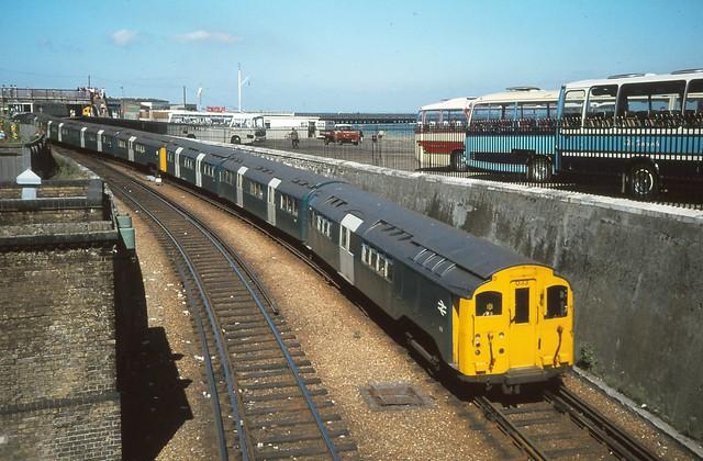 Isle of Wight Tube Train