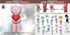 SEmotion Libellune Lovely Teddy Animesh