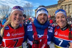 Janatová s Hynčicovou si v Drážďanech dojely pro nejlepší společný výsledek. V team sprintu byly sedmé