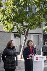 dl., 13/01/2020 - 11:52 - Barcelona 13.01.2020 L'alcaldessa de Bcn, Ada Colau, presenta un programa d'actuacions per protegir els entorns dels centres educatius de Barcelona.    Foto Laura Guerrero/Ajuntament de Bcn.