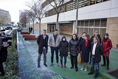 dl., 13/01/2020 - 11:35 - Barcelona 13.01.2020 L'alcaldessa de Bcn, Ada Colau, presenta un programa d'actuacions per protegir els entorns dels centres educatius de Barcelona.    Foto Laura Guerrero/Ajuntament de Bcn.