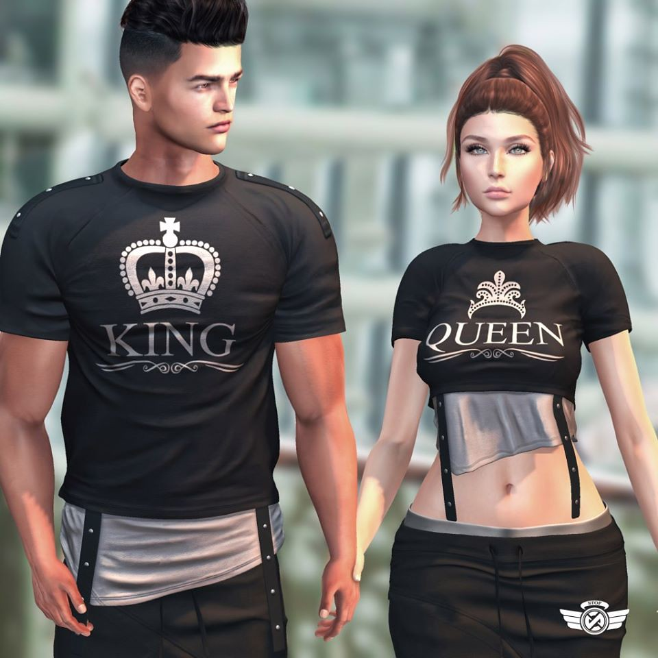 Stop – King & Queen Shirt !
