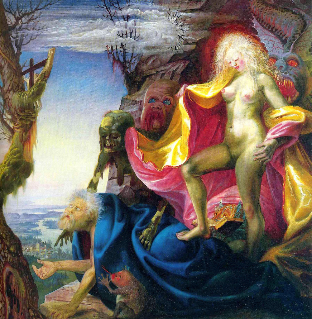 Otto Dix - The Temptation of St. Anthony, 1937