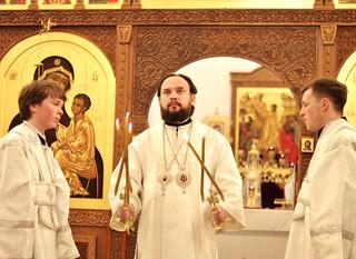12.01.2020 | Божественная Литургия в Юрьевом монастыре