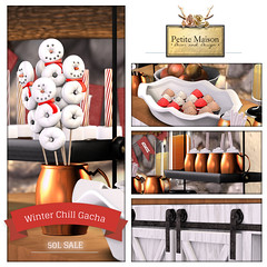 {Petite Maison} Winter Chill Gacha - 50L Special! (limited)
