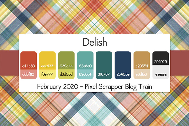 Delish Blog Train Palette
