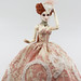 Ca C'est Bon II- gown for upcoming Rococo inspired collection. OOAK Numina Grey by Paul Pham modeling