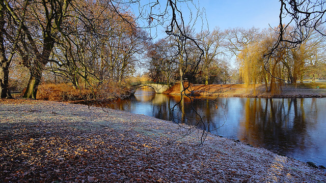 Winter in Hannover