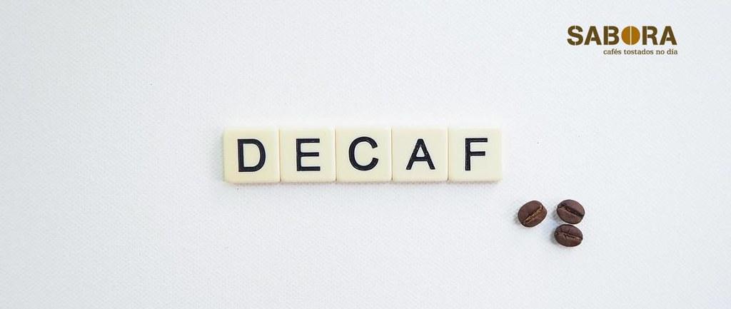 El descafeinado con tres granos de café