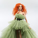 Verdi- OOAK tulle gown for Kingdom Doll inspired by Giambatista Valli