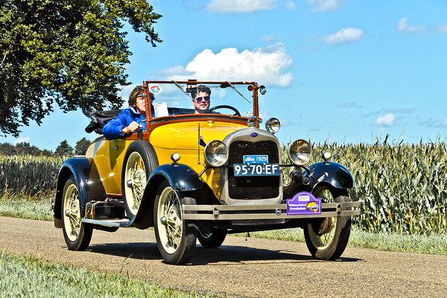 Ford Model A Convertible Cabriolet 1929 (4999)