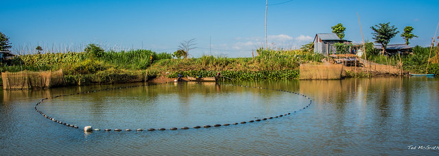 2019 - Vietnam-Avalon-Long Khanh A - 13- Xáng Canal - Closed Net Fishing - 1 of 2