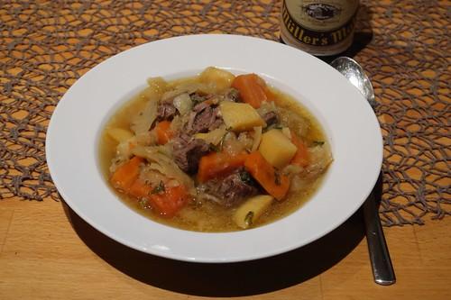 Irish Stew (Schnellkochtopf-Variante)