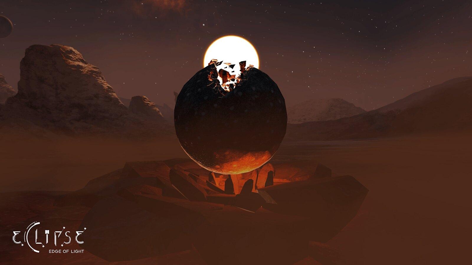 Eclipse: Bord de lumière