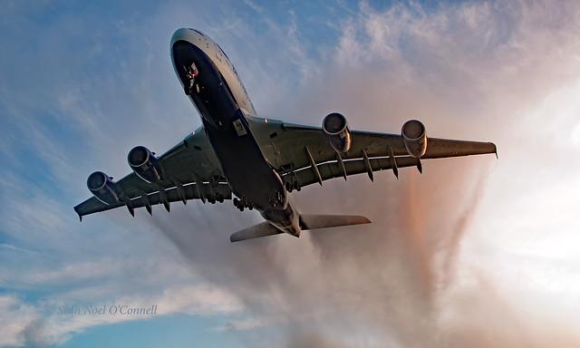 G-XLEH - Airbus A380-841 - LHR