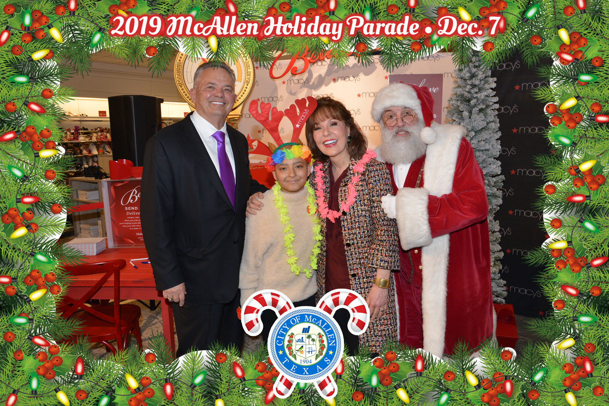Macy's McAllen Holiday Parade – December 4, 2019