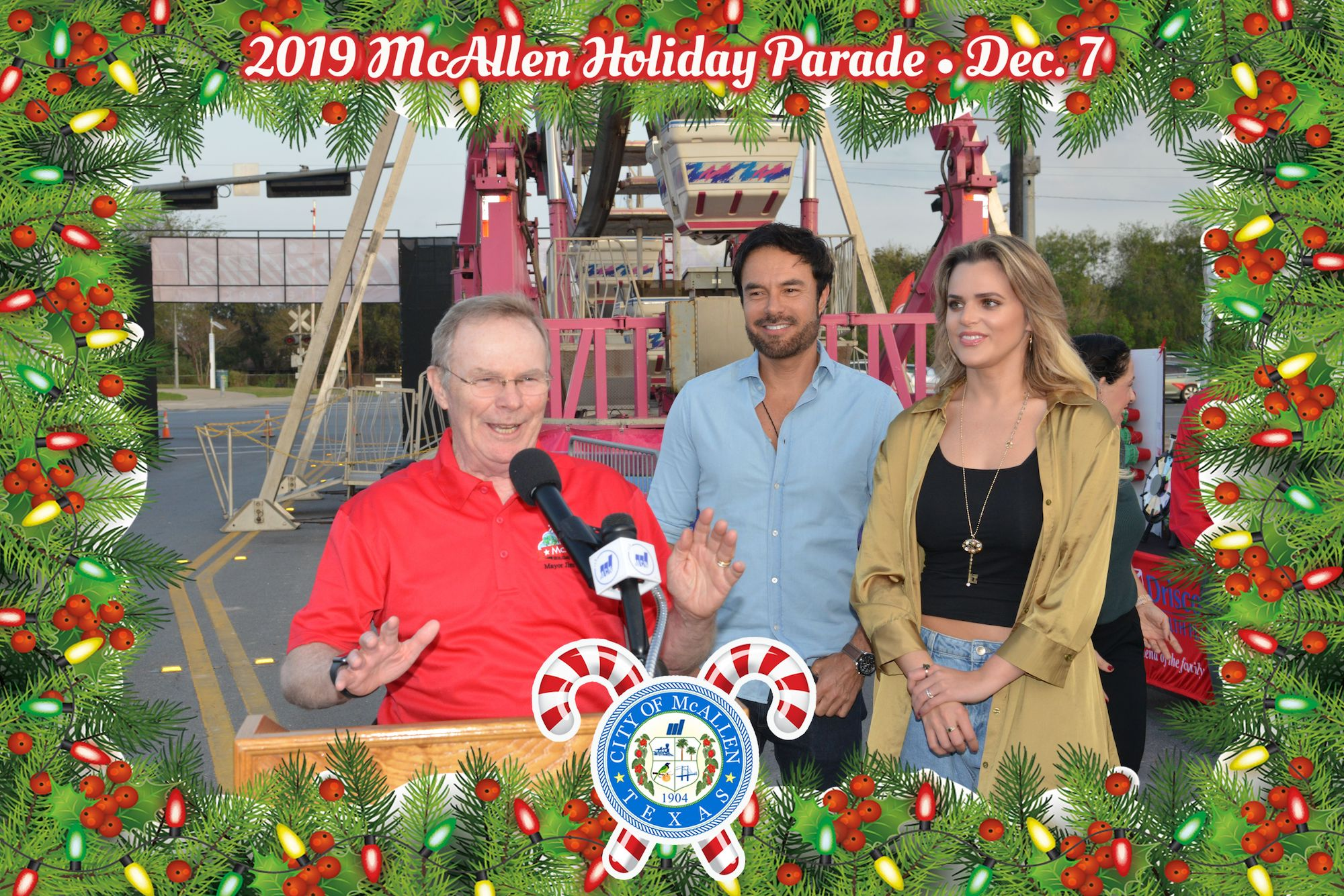 McAllen Christmas in the Park – December 6, 2019