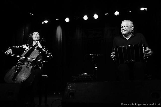 Asja Valcic: cello / Klaus Paier: bandoneon, accordion