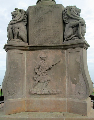 Kilrenny War Memorial Figure of Soldier