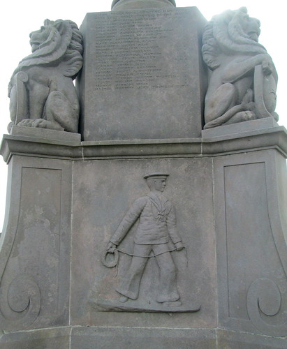 Kilrenny War Memorial Figure of Sailor