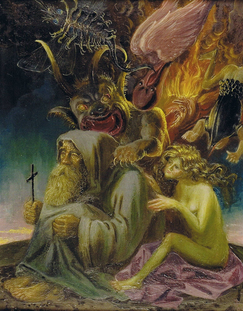 Otto Dix - The Temptation of St. Anthony, 1940