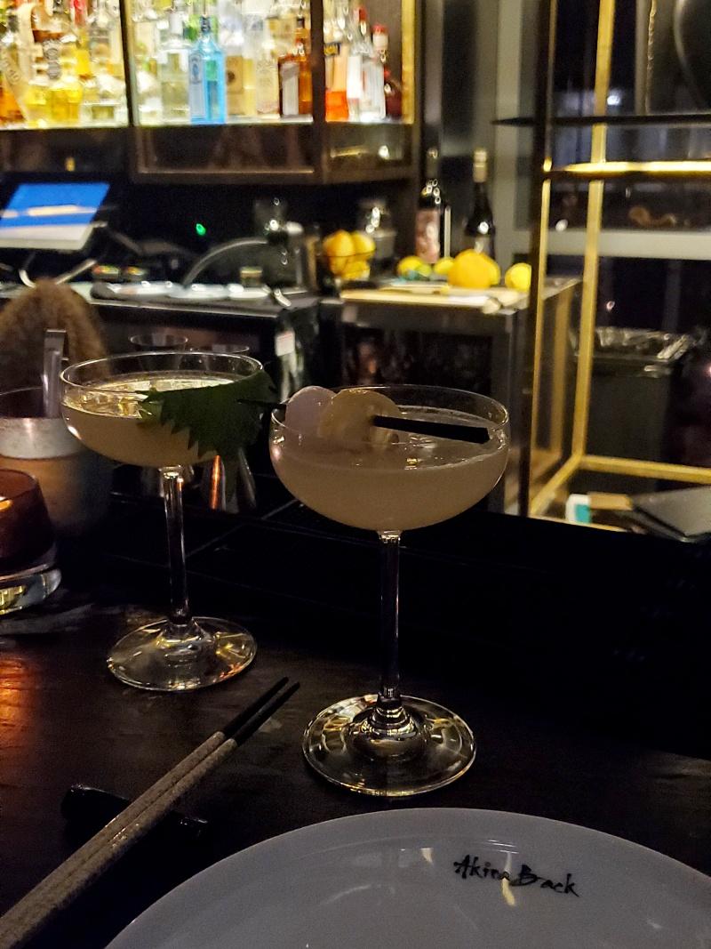 Akira Back cocktails