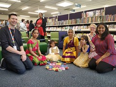 Diwali dance performance at Hornby Library